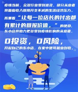 东小店助力就业增收